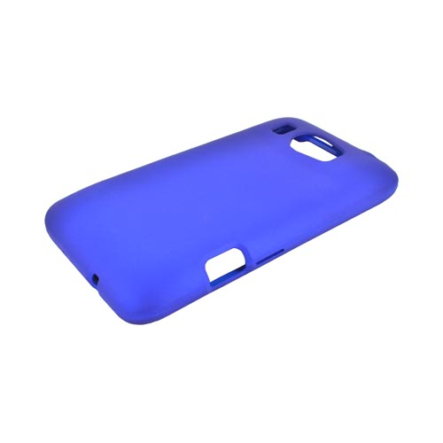 HTC Titan 2 Rubberized Hard Case - Blue