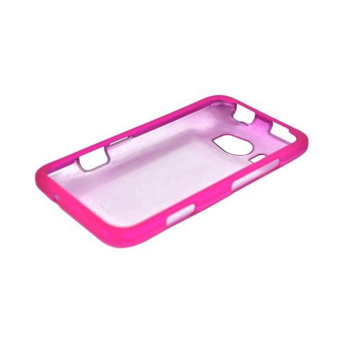 HTC Titan 2 Rubberized Hard Case - Hot Pink