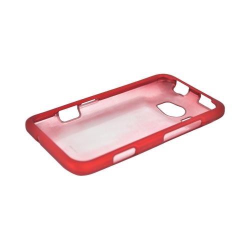 HTC Titan 2 Rubberized Hard Case - Red