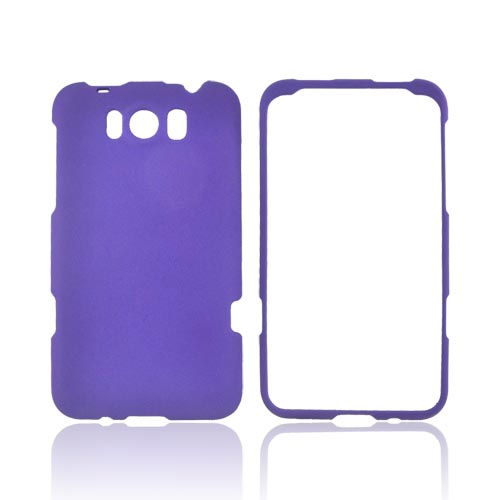 HTC Titan Rubberized Hard Case - Purple