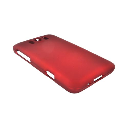 HTC Titan Rubberized Hard Case - Red
