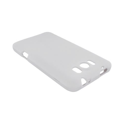 HTC Titan Rubberized Hard Case - Solid White