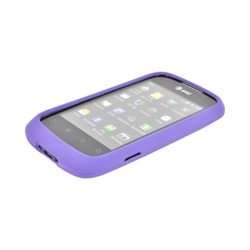 AT&T Fusion U8652 Rubberized Hard Case - Purple