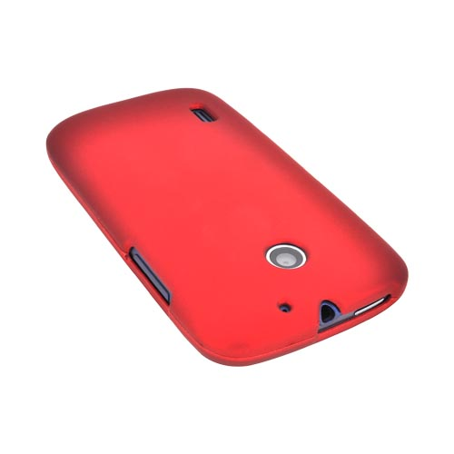 AT&T Fusion U8652 Rubberized Hard Case - Red
