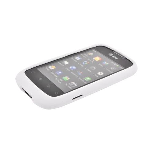AT&T Fusion U8652 Rubberized Hard Case - White