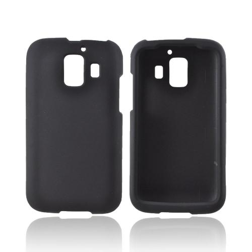 AT&T Huawei Fusion 2 U8665 Rubberized Hard Case - Black