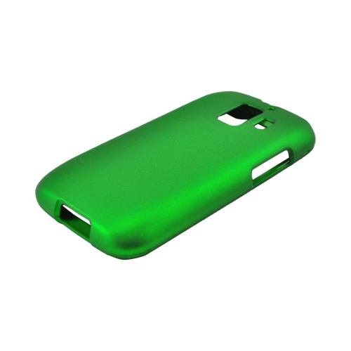 AT&T Huawei Fusion 2 U8665 Rubberized Hard Case - Green