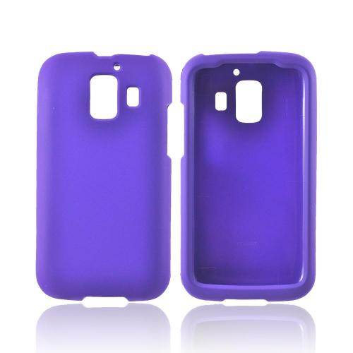 AT&T Huawei Fusion 2 U8665 Rubberized Hard Case - Purple