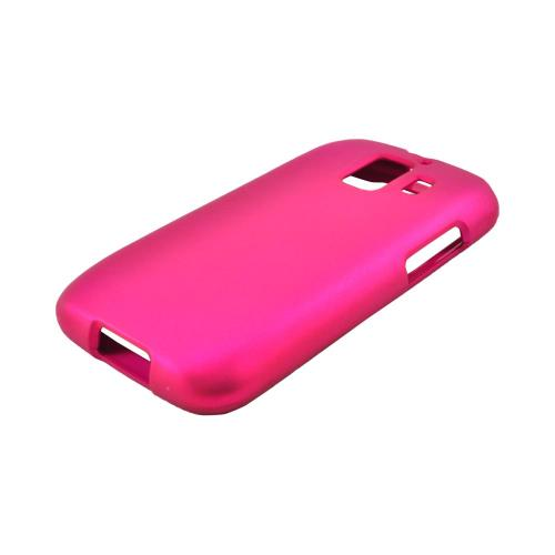 AT&T Huawei Fusion 2 U8665 Rubberized Hard Case - Rose Pink