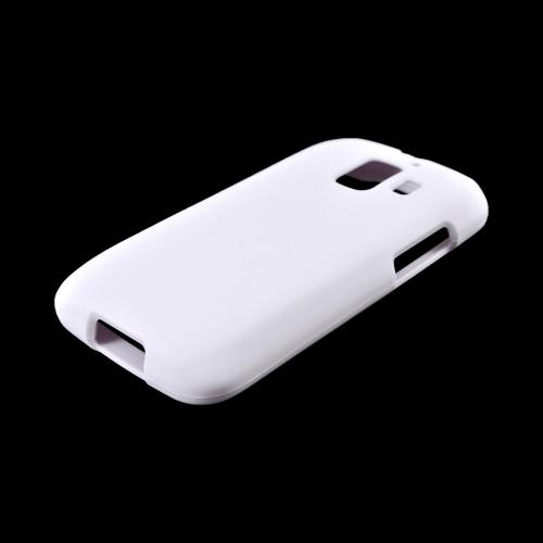 AT&T Huawei Fusion 2 U8665 Rubberized Hard Case - White