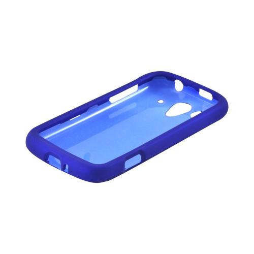 T-Mobile Huawei myTouch 2 Rubberized Hard Case - Blue