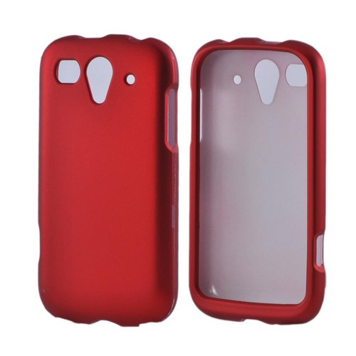 T-Mobile Huawei myTouch 2 Rubberized Hard Case - Red