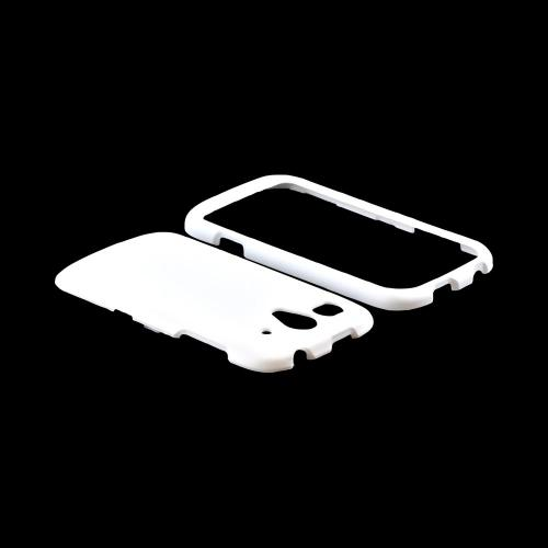 T-Mobile Huawei myTouch 2 Rubberized Hard Case - White