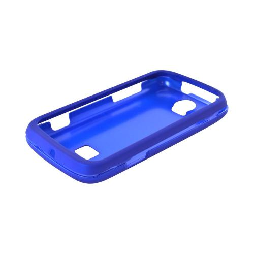 T-Mobile Huawei myTouch Q 2 Rubberized Hard Case - Blue