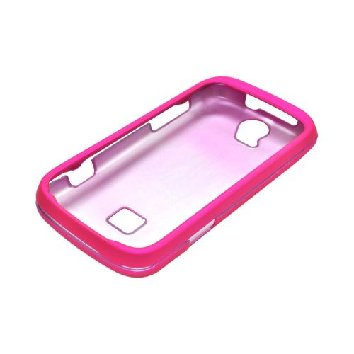 T-Mobile Huawei myTouch Q 2 Rubberized Hard Case - Hot Pink