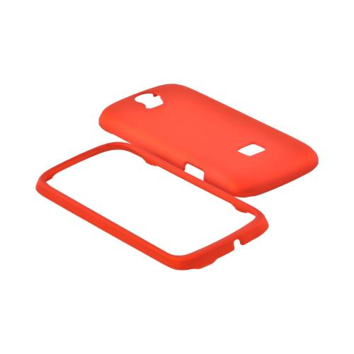 T-Mobile Huawei myTouch Q 2 Rubberized Hard Case - Orange