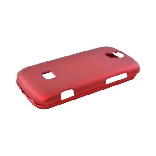 T-Mobile Huawei myTouch Q 2 Rubberized Hard Case - Red