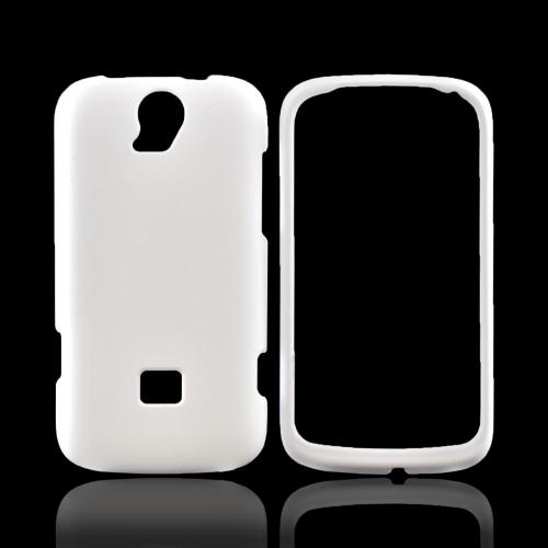 T-Mobile Huawei myTouch Q 2 Rubberized Hard Case - White
