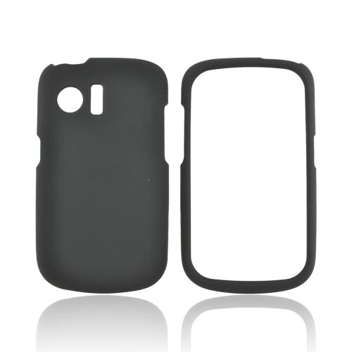 Huawei Pinnacle M635 Rubberized Hard Case - Black