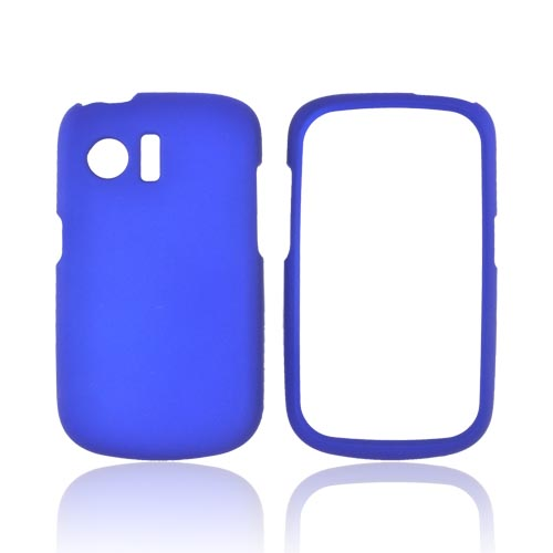 Huawei Pinnacle M635 Rubberized Hard Case - Blue