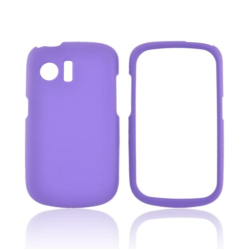 Huawei Pinnacle M635 Rubberized Hard Case - Purple
