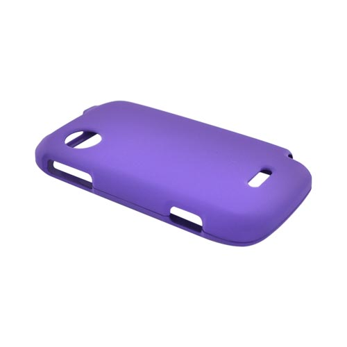 Huawei M735 Rubberized Hard Case - Purple