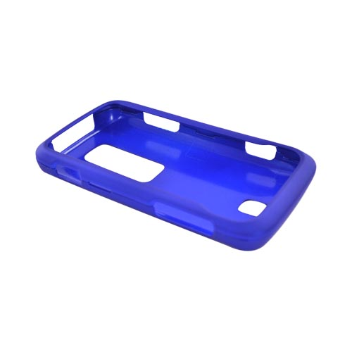 Huawei Ascend M860 Rubberized Hard Case - Blue