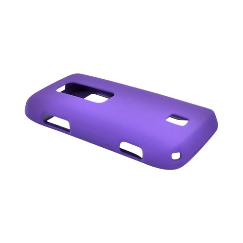 Huawei Ascend M860 Rubberized Hard Case - Purple