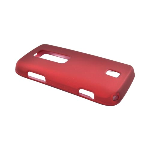 Huawei Ascend M860 Rubberized Hard Case - Red