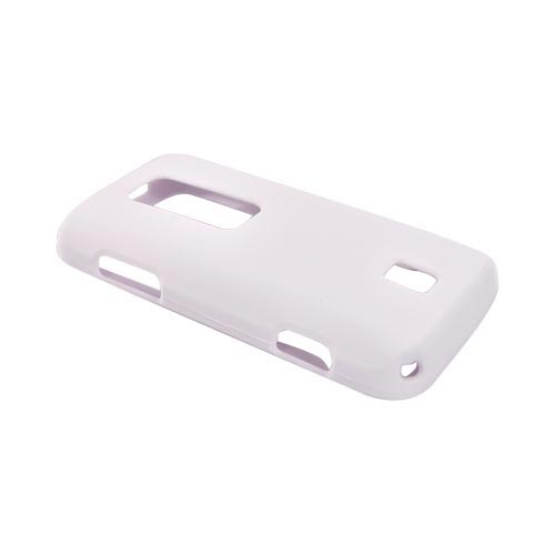 Huawei Ascend M860 Rubberized Hard Case - White