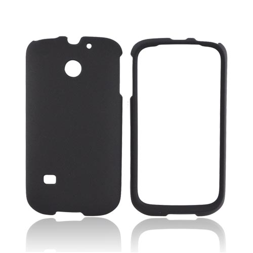 Huawei Ascend 2 M865 Rubberized Hard Case - Black