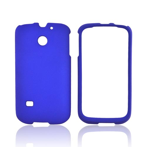 Huawei Ascend 2 M865 Rubberized Hard Case - Blue