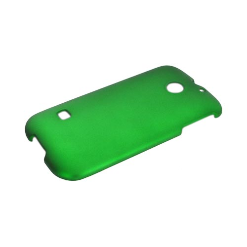 Huawei Ascend 2/ Prism/ Summit M865 Rubberized Hard Case - Green