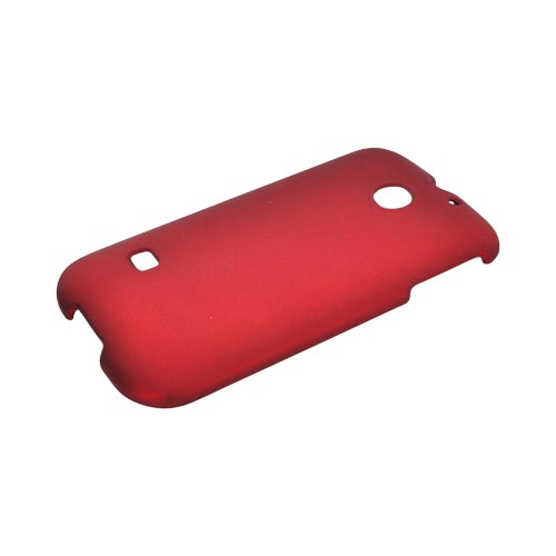 Huawei Ascend 2/ Prism/ Summit M865 Rubberized Hard Case - Red