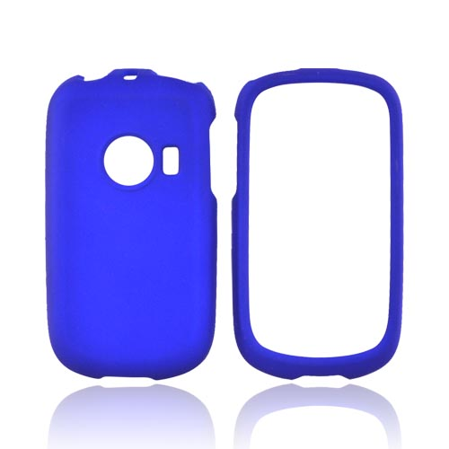Huawei M835 Rubberized Hard Case - Blue