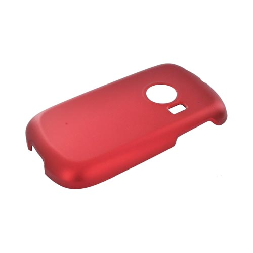 Huawei M835 Rubberized Hard Case - Red