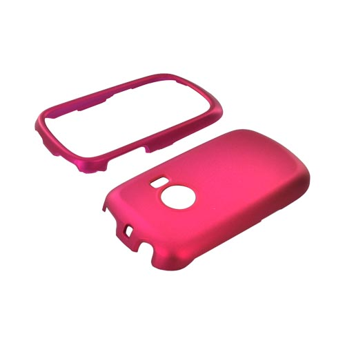 Huawei M835 Rubberized Hard Case - Rose Pink