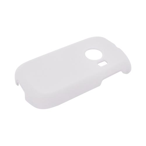 Huawei M835 Rubberized Hard Case - Solid White
