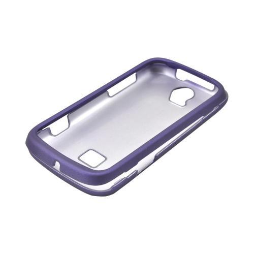 T-Mobile Huawei myTouch Q 2 Rubberized Hard Case - Purple