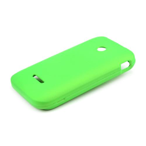 Neon Green Rubberized Hard Case for T-Mobile Prism 2