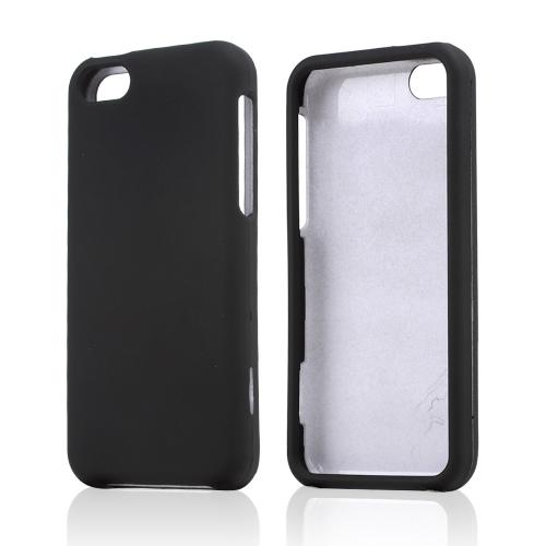 Black Rubberized Hard Case for Apple iPhone 5C