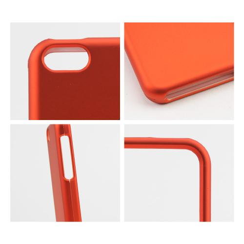Orange Rubberized Hard Case for Apple iPhone 5C