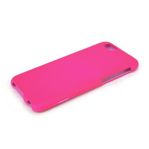 Apple iPhone 6/ 6S Case,  [Hot Pink]  Slim & Protective Rubberized Matte Finish Snap-on Hard Polycarbonate Plastic Case Cover