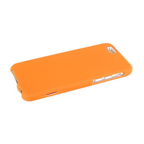 Apple iPhone 6/ 6S Case,  [Orange]  Slim & Protective Rubberized Matte Finish Snap-on Hard Polycarbonate Plastic Case Cover