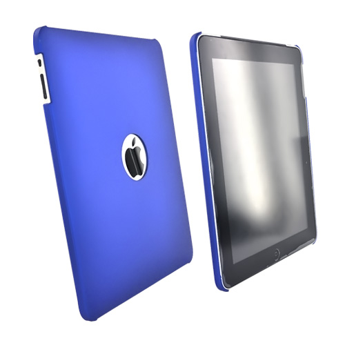 Apple iPad (1st Gen) 1st Rubberized Hard Case - Blue