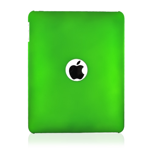 Apple iPad (1st Gen) Rubberized Hard Case - Green