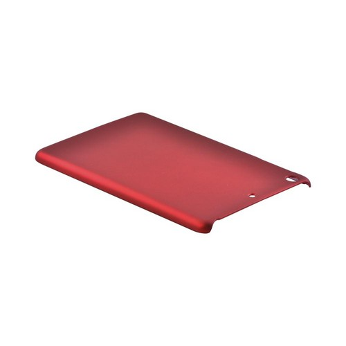 Apple iPad Mini 1/2/3 Rubberized Hard Case - Red