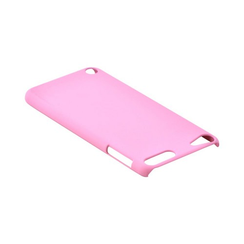 Apple iPod Touch 5 Rubberized Hard Case - Baby Pink