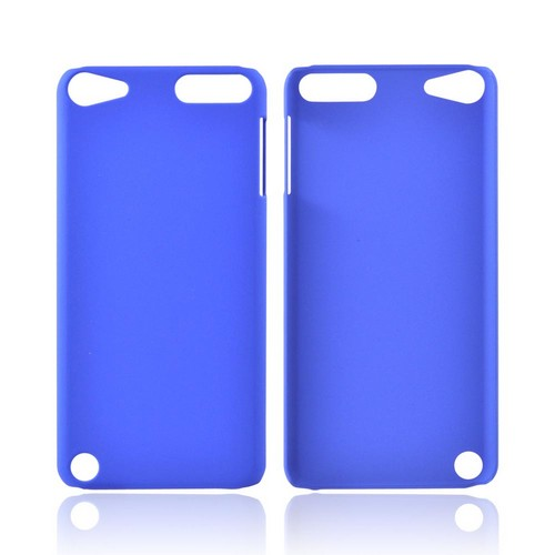 Apple iPod Touch 5 Rubberized Hard Case - Blue