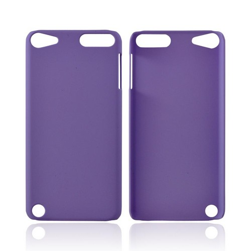 Apple iPod Touch 5 Rubberized Hard Case - Light Purple